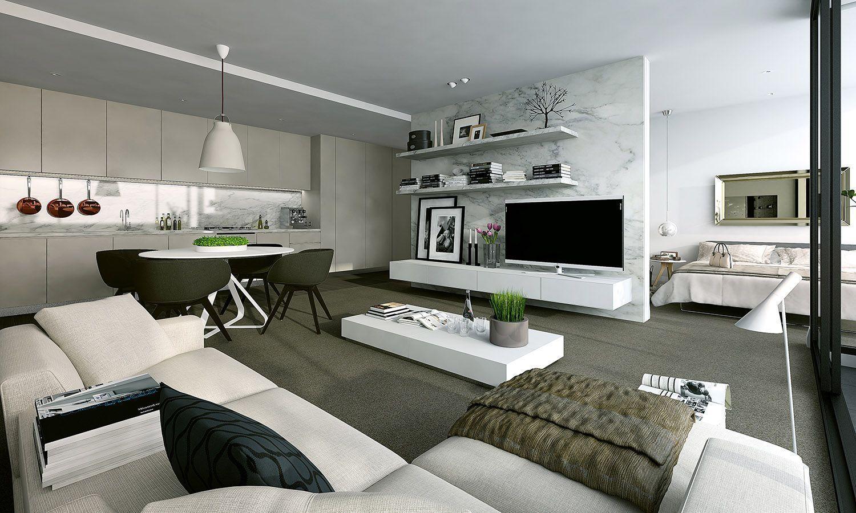Дизайн квартир фото. Идеи дизайна интерьера квартир в ...